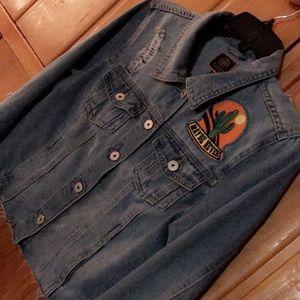 Jean Jacket - (boomboom jeans)